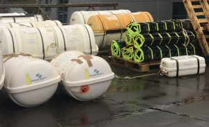 More Jason's Cradles being delivered for their annual servicing at 3Si Aberdeen.