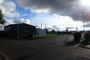 The sun is shining on the fantastic new facility at Clyde Training Solutions, Clydebank, Scotland.